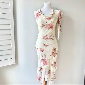 CDC Petite Flowey Flowy Dress Size 6P